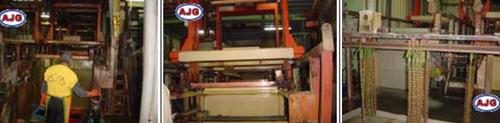 MOTEDO社のスプレー工場を訪問
